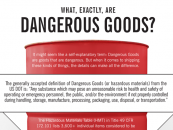 What exactly are dangerous goods?
