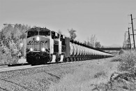 PHMSA kicked off a new web page for first responders dealing with the safety of oil trains.  Here such a train passes north through Auburn, Washington on April 2nd, 2016. © 4/2016 by Nikki Burgess; all rights reserved.