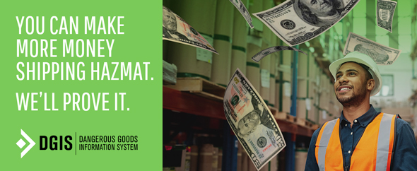 DGIS Challenge: You can make more money shipping hazmat. We'll prove it.