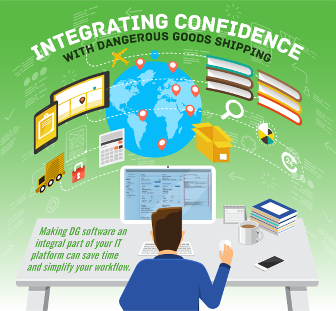 Integrating Confidence with Dangerous Goods Shipping