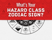 What's Your Hazard Class Zodiac Sign?