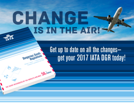 Infographic | New IATA Dangerous Goods Regulations for 2017