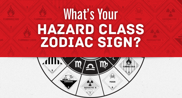 What's You Hazard Class Zodiac Sign?