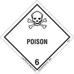 Class 6 Poison Label